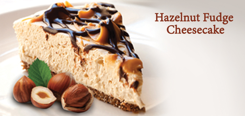 Hazelnut Fudge Cheesecake
